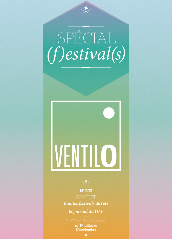 Ventilo 322 Spécial (f)estival(s)